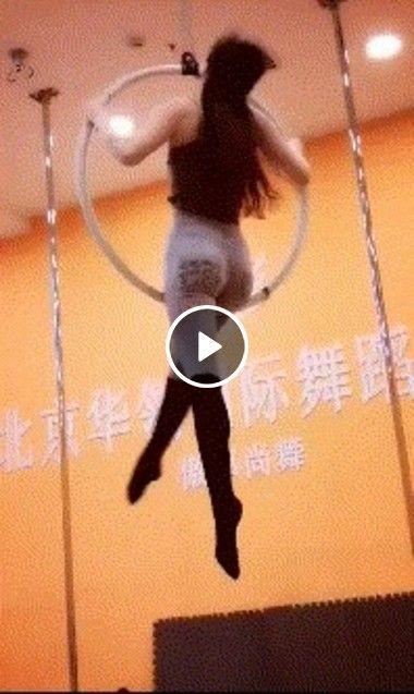 Na china é assim que se roda bambolê