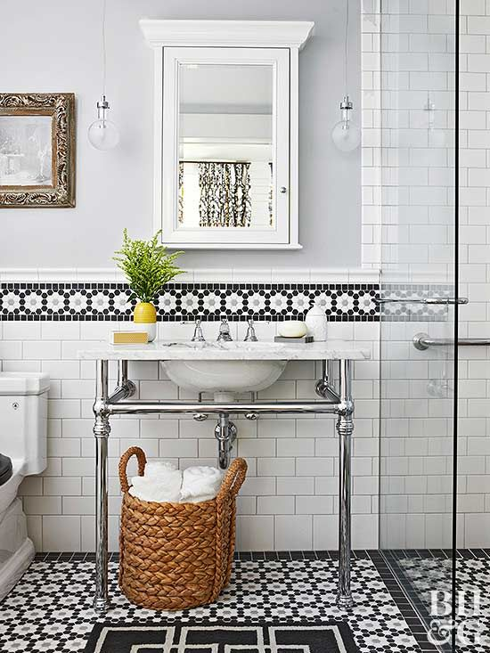 21 Tile Ideas That Will Mesmerize You Classic Bathroom Tile Vintage Bathroom Tile Bathroom Backsplash