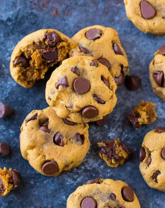 Coconut Flour Chocolate Chip Cookies - Gluten Free, Dairy Free, Paleo
