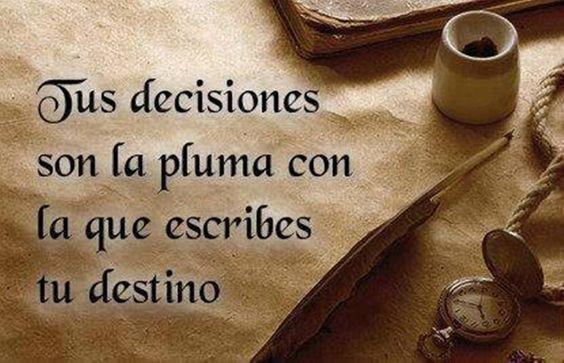 Tus decisiones