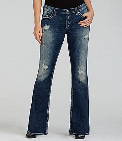 Silver Jeans Co. Woman Pioneer Bootcut Jeans at Dillards. | My ...