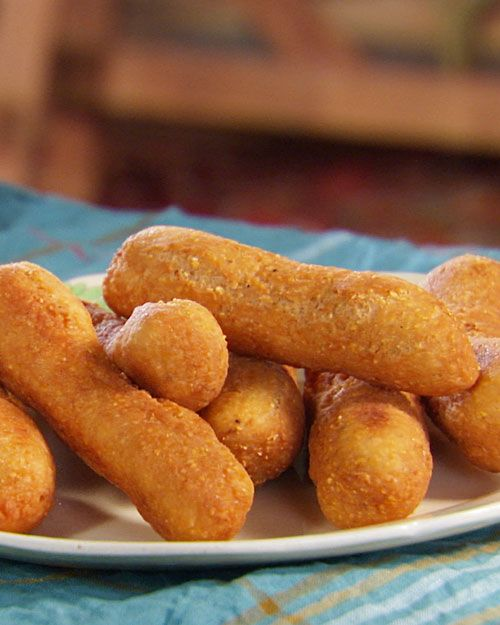 Jamaican Festival - fried sweet cornmeal bread, a great accompaniment to jerk entrees.