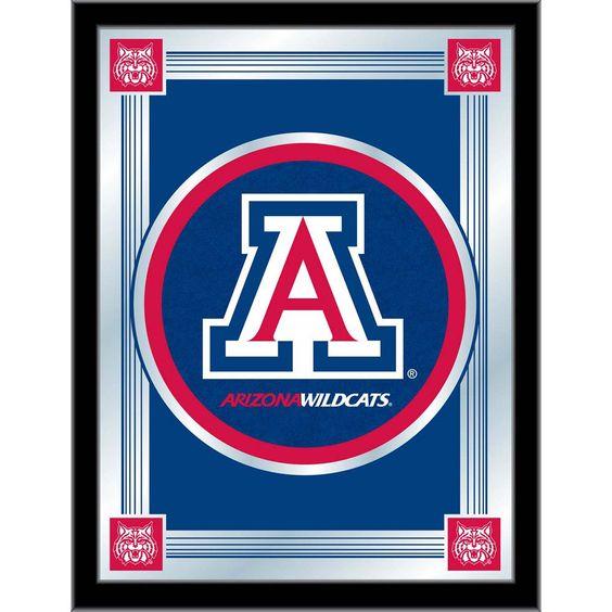 Arizona Wildcats Logo Wall Mirror