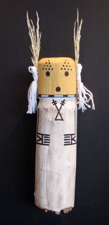 Kachina Dolls Traditional Style Justin Lomatewama Cricket 11""