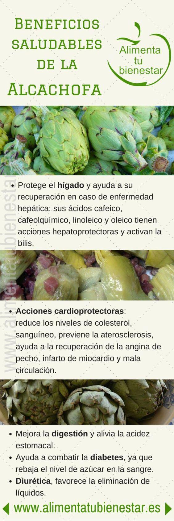 Beneficios para la salud de la alcachofa