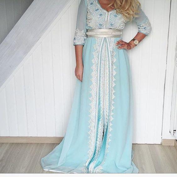 #fashion#kaftan #couture #fabulous #style #fablux #luxury 🎀#فاشن #قفطان #موضه…