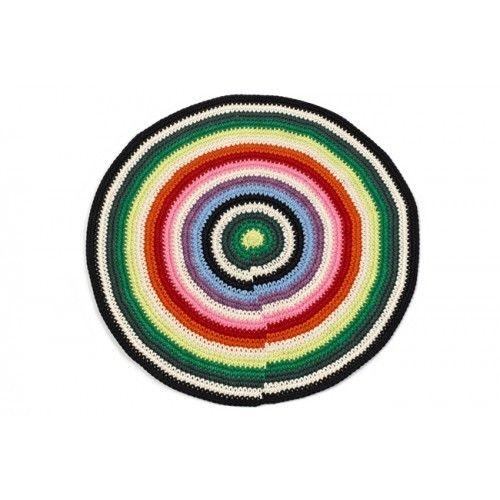 Anne Claire Petit rond tapijt streep small - Accessoires - Inrichting | Klein&Fijn.nl
