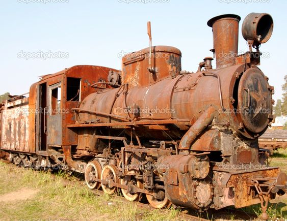 The stories this rusty old steam engine could tell...
