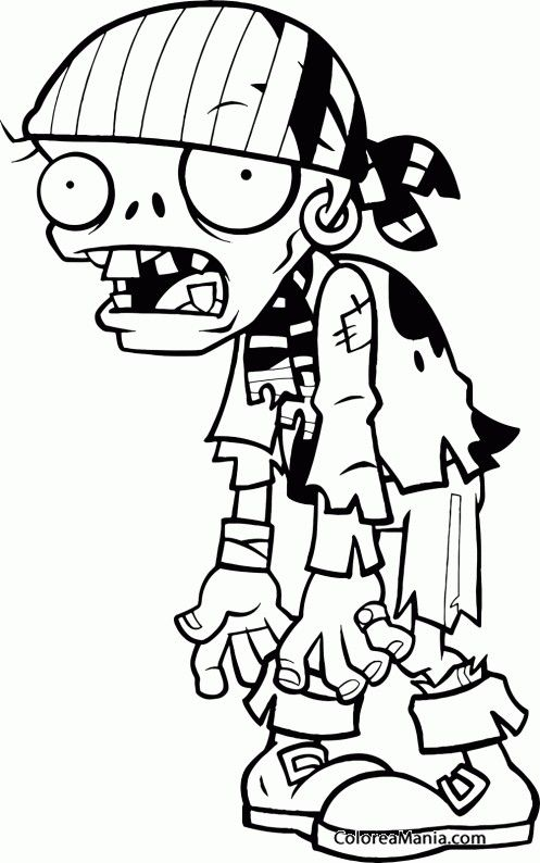 Pin De Joseth Delgado En Plants Vs Zombies Plantas Vs Zombies Personajes Halloween Para Colorear Dibujos De Zombies