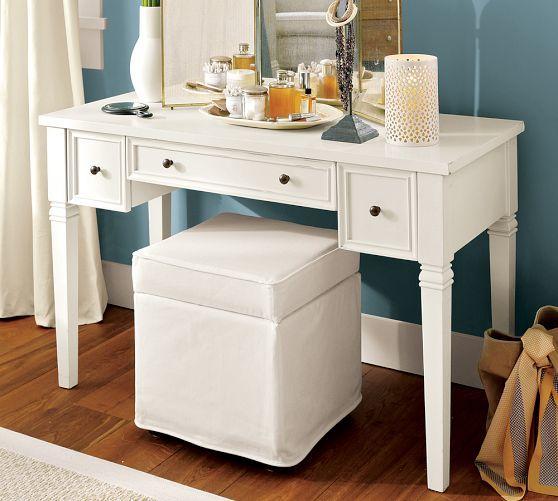 Meredith Smart Technology Vanity Desk Pottery Barn Decor Master Bedroom