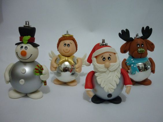biscuit natal - polymer clay