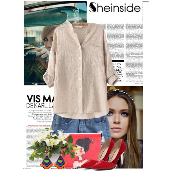 Sheinside.com 5 by laurafox27 on Polyvore featuring polyvore, moda, style, Nicki Minaj and Sheinside
