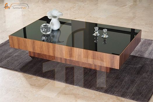 Elegant Center Table With Mirror Top Coffee Table Design Chic Coffee Table Cool Coffee Tables