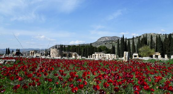 Hierapolis-Pamukkale #Turkey