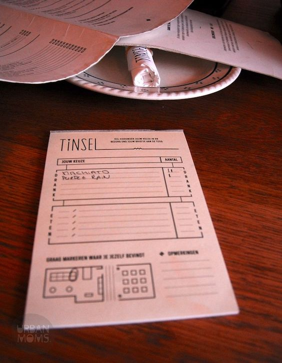 TINSEL self-ordering note