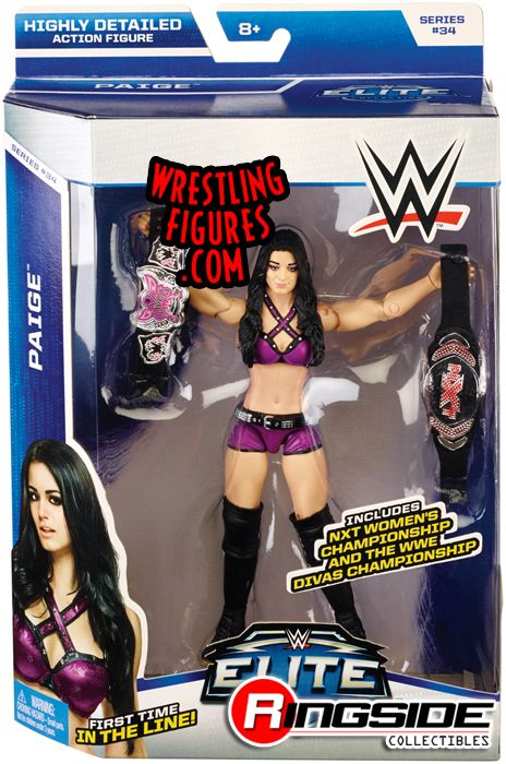 Paige - WWE Elite 34   Ringside Collectibles