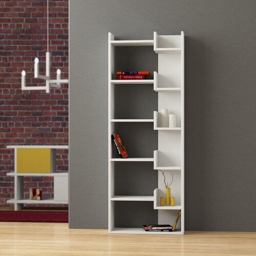 Kara Bookcase Zipcode Design Colour White In 2020 Modern