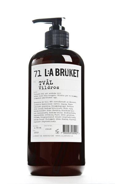 L:A BRUKET Wild rose liquid soap || SIMPLY EGOISTE