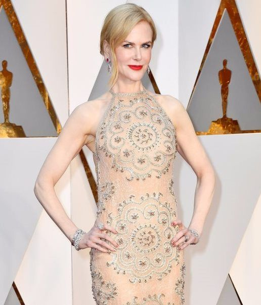 Nicole Kidman wearing a rare vintage Omega