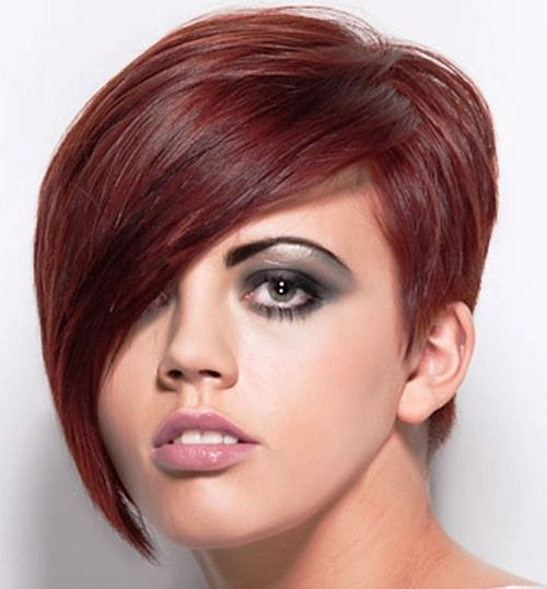 Asymmetrical Pixie Cut Hair Pinterest