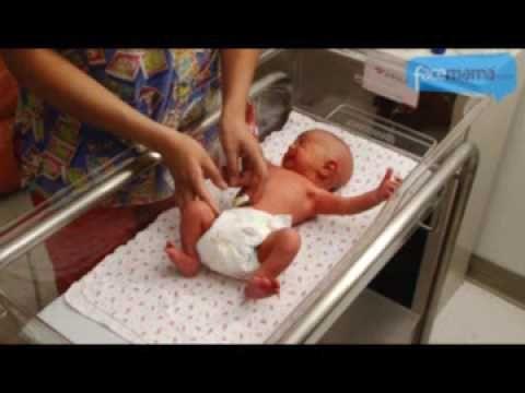 Baño seco para el bebé facemama.com