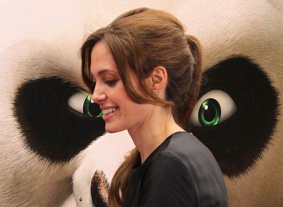 Angelina Jolie at event of Kung Fu Panda #movies