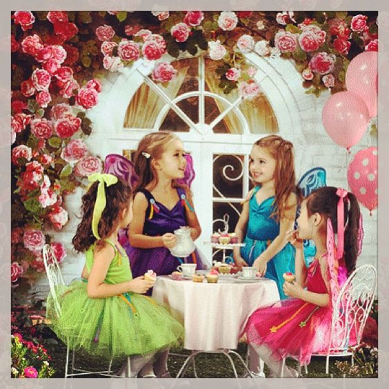 Tea time! #kids #girls #tutu