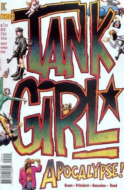 Tank Girl: Apocalypse #2  • Diciembre 1995 Portada: Brian Bolland