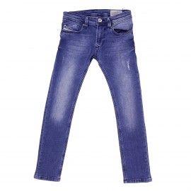jeans skinny 5 tasche blu