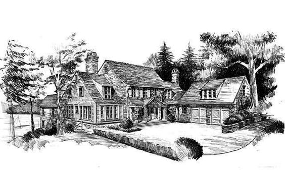 Greenwood Hill House Plan  by Spitzmiller & Norris, Inc.