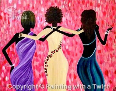 Baton rouge la ladies night and baton rouge on pinterest for Painting with a twist greenville tx