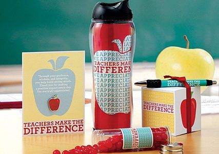 Teachers Make the Difference Baudville gifts are great for recognizing teachers year round. *CC