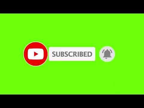 Animasi Tombol Subscribe Dan Notifikasi Lonceng Youtube Jenis Huruf Tulisan Teks Lucu Ilustrasi Bisnis