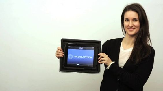 PODCASTER film id your Tablet !!