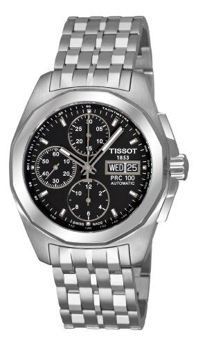 Review Tissot Men's T0084141105100 PRC 100 Black Day Date Chronograph Dial Watch By Tissot | REVIEW WATCHES PRODUCTS