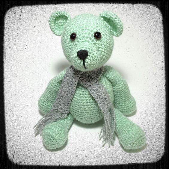 A personal favourite from my Etsy shop https://www.etsy.com/au/listing/270153876/chubby-bear-amigurumi-crochet-soft-toy