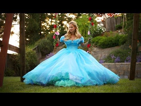 Cinderella 2015 - The Secret Garden - YouTube