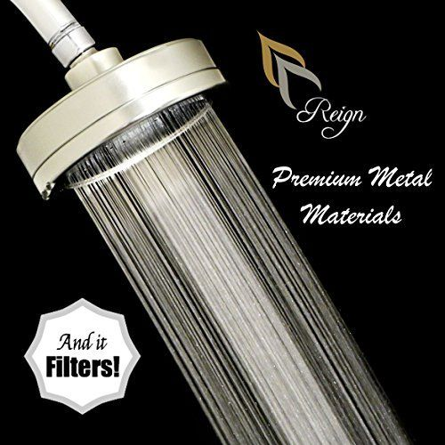 Filtered Shower Head Reduces Chlorine And Dissolved Solids All