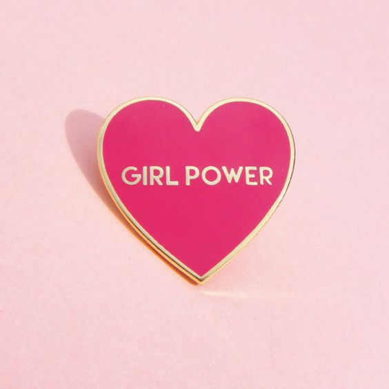 Hey, I found this really awesome Etsy listing at https://www.etsy.com/uk/listing/285510667/girl-power-pin