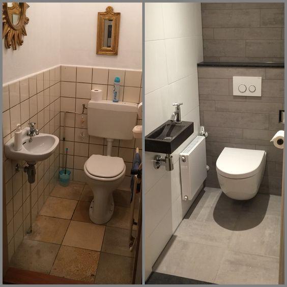 Gaste Wc Renovieren Wc Renovieren Badezimmer Renovieren Toilette Renovieren
