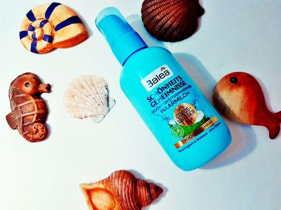 Balea Schönheitsgeheimnisse Haarmilch Cocos Wasser Erfahrung