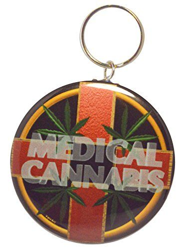 Valxart Medical Cannabis Cross 2-Side Keychain + Pinbutton + Magnet Valxart