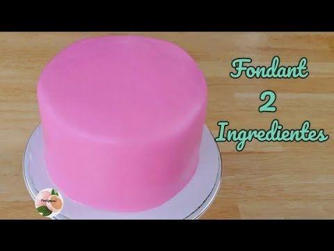 Fondant Casero Con 2 Ingredientes Facil Y Economico Youtube En 2021 Recetas De Torta Esponjosa Como Hacer Fondant Receta De Tartas Dulces