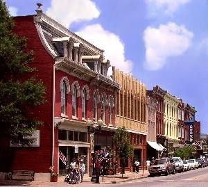 Franklin, Tennessee---go to Puckett's for a peach tea! Reese Witherspoon's mom also works here!