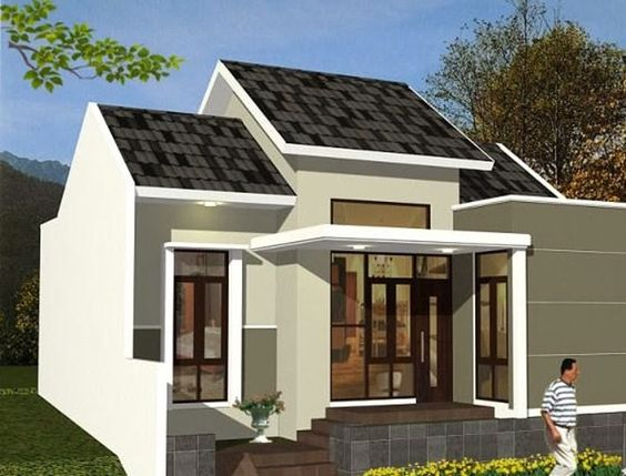 Beautiful minimalist house design desain rumah minimalis for Minimalist house type 36