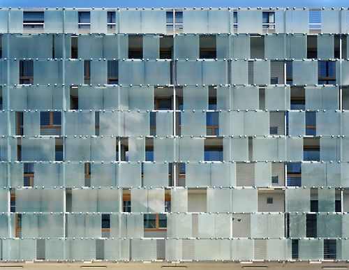 Baumschlager eberle hotel cube facade pattern 3 for Hotel amsterdam cube