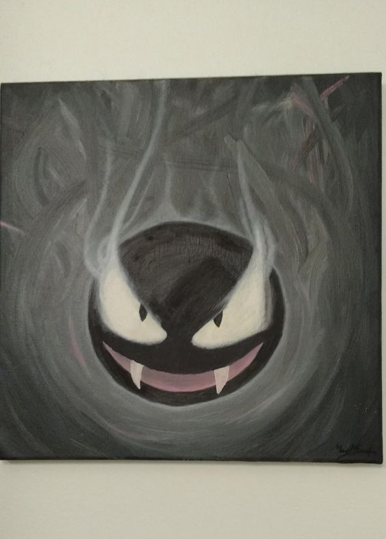 My First Painting: Ghastly!