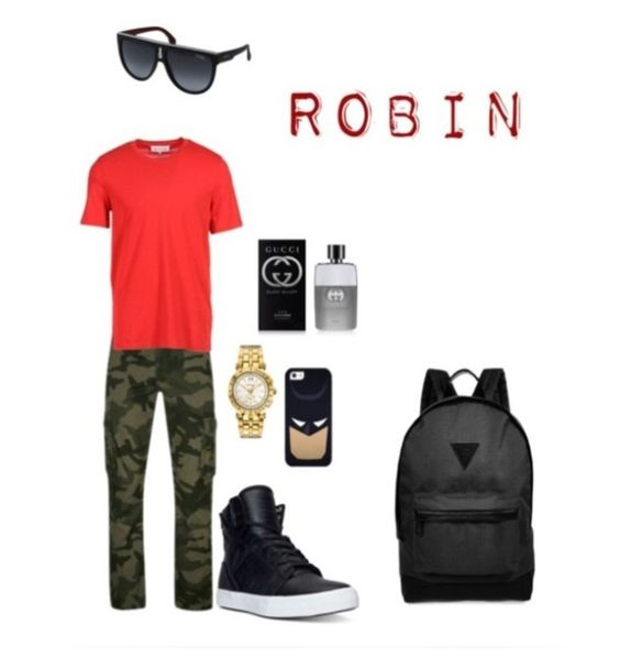 """""""Teen titans #1"""" by bribriwiggins ❤ liked on Polyvore featuring men's fashion and menswear"""