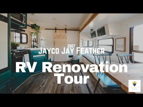 Check Out This Renovation 2007 Jayco Jay Feather Trailer