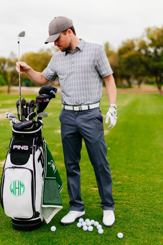 Men's Golf - Dallas Wardrobe